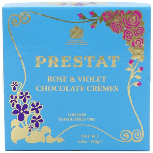 Preisvergleich Produktbild Prestat Dark Chocolate Rose and Violet Crmes 140 g