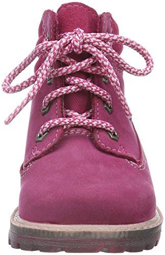 Richter Kinderschuhe Pragon, Bottes courtes avec doublure chaude fille Rose - Pink (Fuchsia 3500)