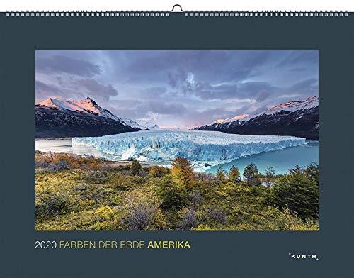 Farben der Erde: Amerika 2020: Kalender 2020 (KUNTH Wandkalender Black Edition)