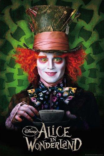 Alice im Wunderland Poster Hutmacher (Johnny Depp) (68cm x 98cm) + (Im Hutmacher Wunderland In Alice)