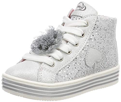 PRIMIGI Baby Mädchen PSA 34339 Sneaker, Silber Argento 3433900, 27 EU