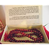 Mallah Prayer Beads with Red Tassle by Spiritual Gifts