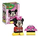 LEGO DuploDisney LaMiaPrimaMinnie, Set con 2 Costumi Minnie Mouse Costruibili, Giocattoli Prescolari per Bambini dai 2 Anni in su, 10897 LEGO