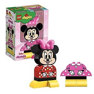 LEGO DuploDisney LaMiaPrimaMinnie, Set con 2 Costumi Minnie Mouse Costruibili, Giocattoli Prescolari per Bambini dai 2 Anni in su, 10897 5702016367522 LEGO