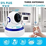 SYL IP01A Wireless HD IP Security Camera CCTV Cameras for Outdoor and Indoor