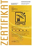 Outdoorer Pop up Strandmuschel Zack PREMIUM, UV 80, inkl. Sandheringe & 3 Fenster -