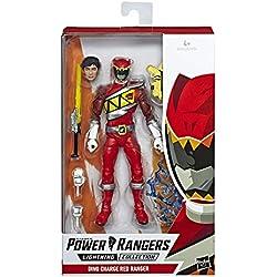Power Rangers Lightning Collection - Figurine Ranger rouge Dino Charge de 15 cm