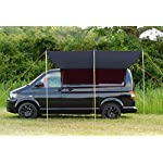 DEBUS Campervan Sun Canopy Awning - Anthracite Grey 10