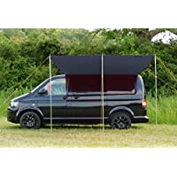 DEBUS Campervan Sun Canopy Awning - Anthracite Grey 7