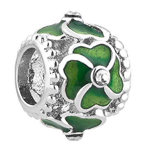 uniqueen-four-leaf-lucky-clover-charm-per-braccialetti-pandora