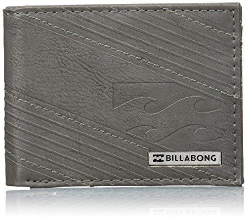Billabong Münzbörse, anthrazit (mehrfarbig) - C5WM05 (Geprägtes Wallet Tri-fold Leder)