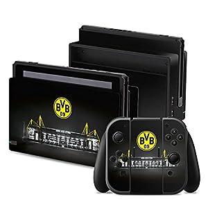 DeinDesign Nintendo Switch Folie Skin Sticker aus Vinyl-Folie Aufkleber Borussia Dortmund BVB Stadion