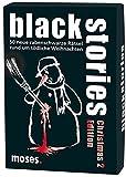 moses. black stories Christmas Edition 2 | 50 rabenschwarze Rätsel | Das Krimi Kartenspiel