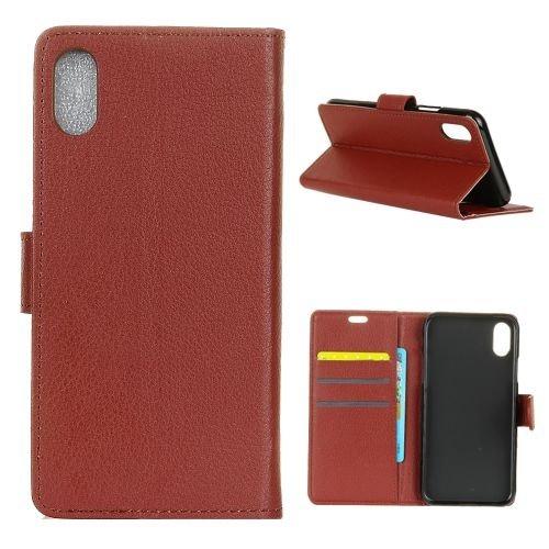 JbTec® Flip Case Handy Hülle Zu Apple IPhone X   BOOK EINFARBIG   Handy