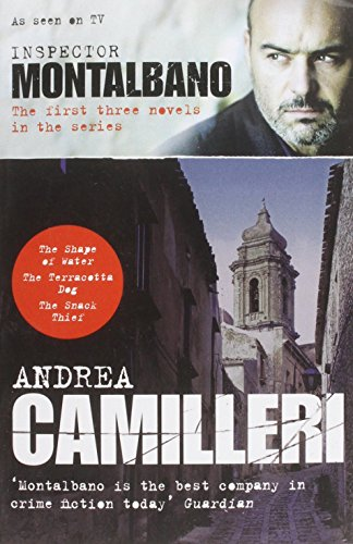 Inspector Montalbano: The first three novels in the series by Andrea Camilleri (1-Aug-2013) Paperback