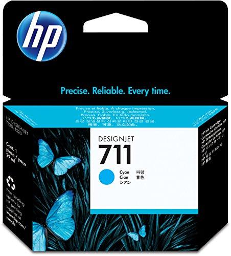 D'Origine HP cartouche d'encre cyan No 711 CZ130A