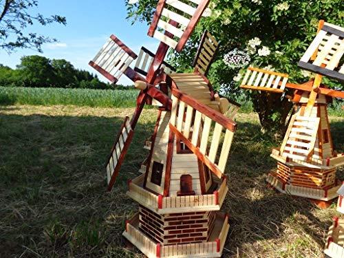 Gartenwindmühle 130 cm, zweistöckig - 4