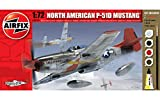 #4: Airfix A68208M North American P-51D Mustang 1:72 Small Starter Gift Set