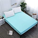 ZHOUJINGTIAN Reine Farbe Schleifbett Trampolin Abdeckung Bett Tasche Reinigungsset kann Sich die...