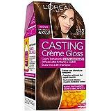 L'Oréal Paris Casting Crème Gloss Colore Trattamento senza Ammoniaca, 535 Chioccolata