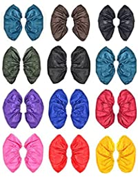 MSmask Rain Shoe Covers Reusable Waterproof Rain Snow Boots Slip Resistant PVC Thicken Sole Shoes Cover Men Women...