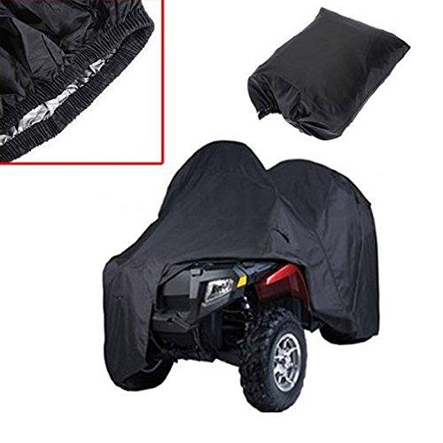 Quad ATV-Deckel schwarz Wasserdicht Four Wheeler Speicher-Cover-Größe L / XXL / XXXL
