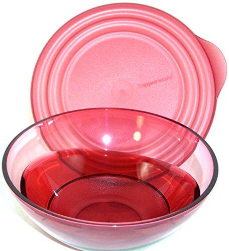 1a TUPPER C120 Schüssel ELEGANZIA 1x 600 ml --- rot