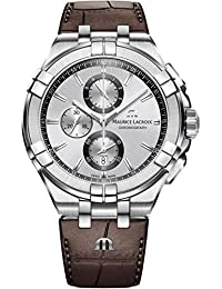 Mens Maurice Lacroix Aikon Chronograph Watch AI1018-SS001-130-1