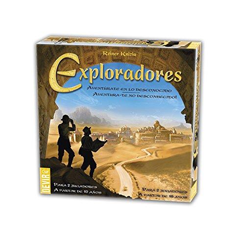 Devir - Exploradores, juego de mesa (BGEXPLORA)