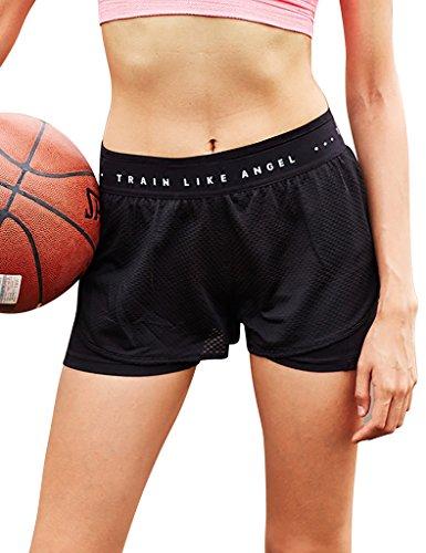 Jimmy Design -  Pantaloncini sportivi  - Donna Nero