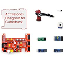 Sparkykit Cubietruck Acce A, mini PCAccessories Pack (type A) for Cubietruck, including Expansion Board DVK570, Modules, Camera