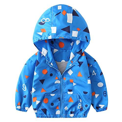 MEIbax Kinder Baby Mantel Herbst Jacke Oberbekleidung Bagger Hoodie Windbreaker Kapuzenjacken Trainingsanzug