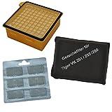 Set HEPA Filter, Geruchsfilter und 6 Duftblocks, geeignet für Ihren Vorwerk Tiger VK 260