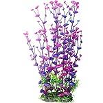 Dreammy Artificial Green Plant Aquarium Fish Tank Plastic Plants Decoration Ornament Tall Plant … 8