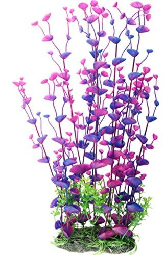 Dreammy Artificial Green Plant Aquarium Fish Tank Plastic Plants Decoration Ornament Tall Plant … 1