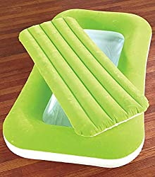 52x30 Green Inflatable Kiddie Beds