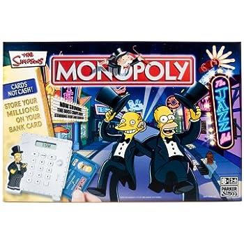 Hasbro Monopoly The Simpsons