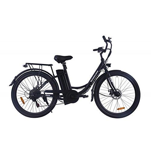 Velobecane Easy Noir - Vélo Électrique Mixte Adulte, No