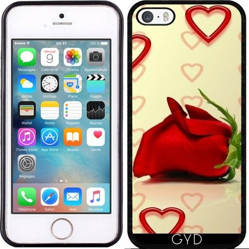 Coque pour Iphone SE - Rose De L'amour by WonderfulDreamPicture Silicone