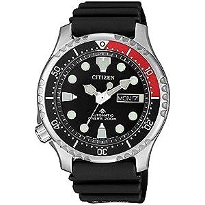 Citizen Promaster Automático Diver 200 Hombre Correa Caucho NY0085-19E 6