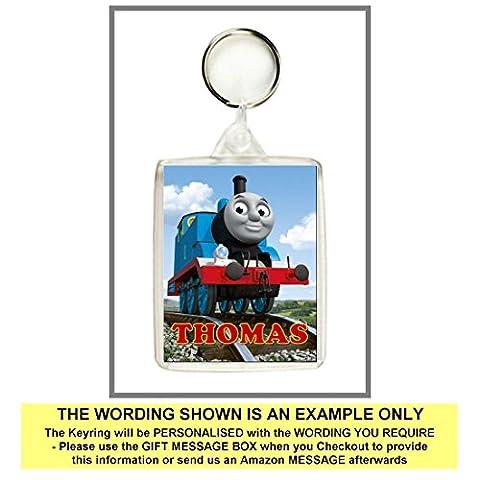Personalised THOMAS THE TANK ENGINE Keyring / Bag Tag -