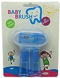 Baby Brush, Cepillo de dientes de dedos, zahnpfle Niños bebés, Cuidado bucal infantil, bebé Regalo, color azul