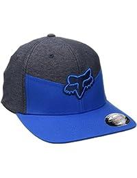 Gorra Flexfit visera redondeada Fox Heat Ray Azul