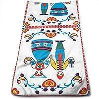 WBinHua Toallas, Toallas de Playa, Beach Towel, Microfibre Towel, Hand Towels,