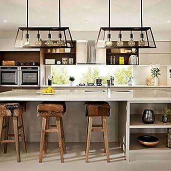 Lustres Mini style rtic/Lodge Salon/Chambre/Salle À Manger/Cuisine/étude chambre/bureau en métal