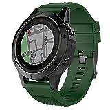 Garmin Fenix 5X Correa,Gosuper de Silicona Suave Correa de Reloj Respirable Reemplaz Atar con Correa para Garmin Fenix 5X/Fenix 5X Plus