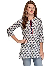 Rapsodia Women's Cotton Regular Kurta