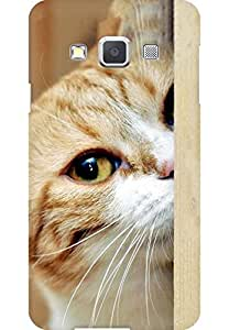 AMEZ designer printed 3d premium high quality back case cover for Samsung Galaxy A3 (lomo style abstract cat)
