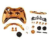 Ersatz Shell Tasten Kit Schutzhülle Gehäuse Schutz Case Cover für Xbox 360 Wireless Game Controller - Orange