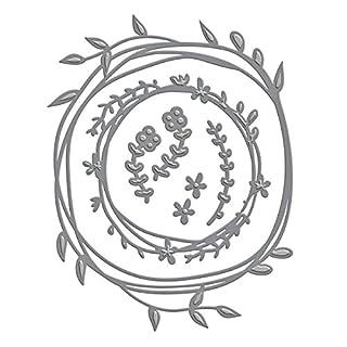 Unbekannt Spellbinders Spellbinders Shapeabilities Dies-Wreath, andere, Mehrfarbig